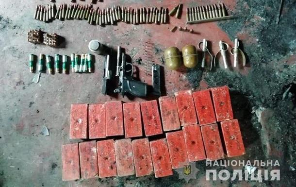В Херсонской области обнаружили тайник со взрывчаткой