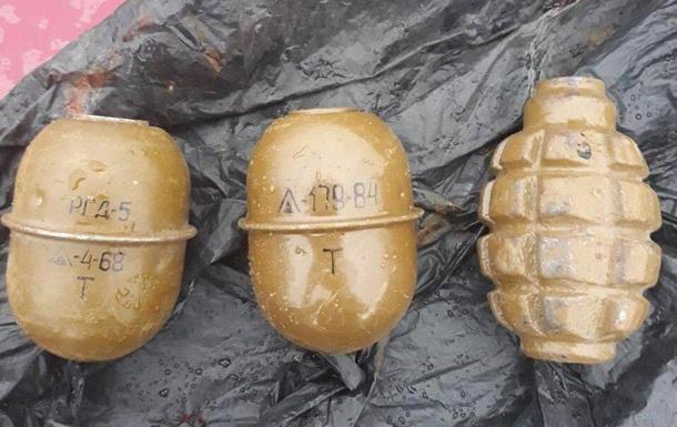 На Дніпропетровщині затримали торговця гранатами