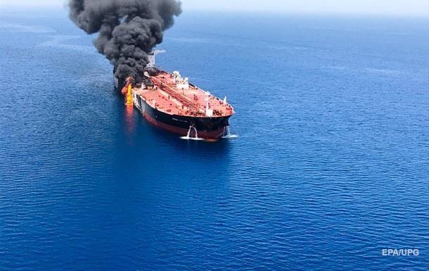 Команда танкера заявила про атаку  літальних об єктів  у Перській затоці