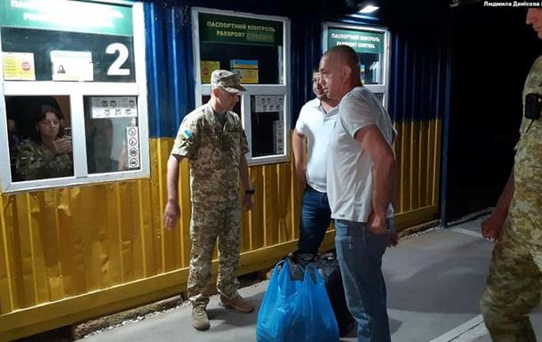 В Крыму отпустили капитана украинского судна