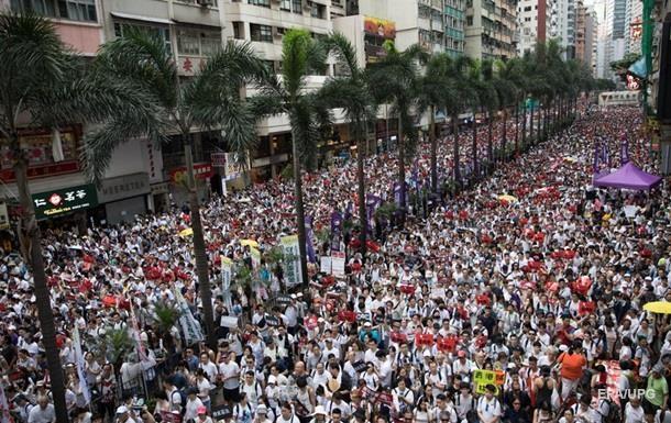 У Гонконзі відкладуть прийняття скандального законопроекту про екстрадицію
