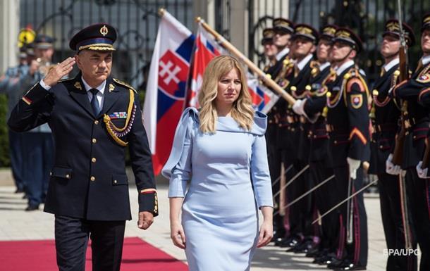 Новий президент Словаччини прийняла присягу