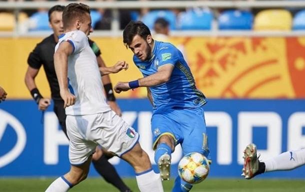 Булеца стал лучшим игроком Украины U-20 по системе гол+пас