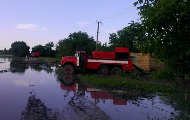 Злива в Херсонській області: підтоплені понад 200 дворів