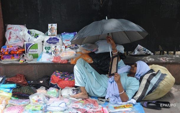 В Індії через аномальну спеку загинули 70 людей
