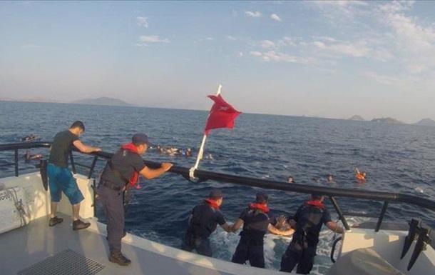 Уберегов Турции затонула лодка смигрантами, необошлось без жертв