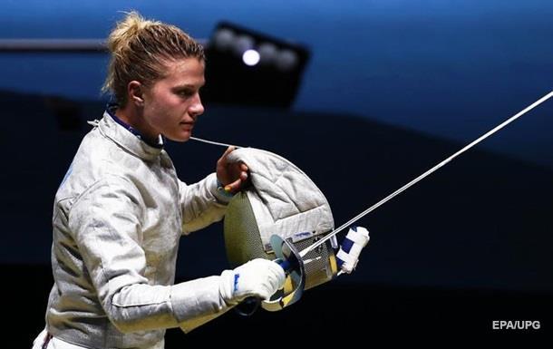 Харлан стала чемпіонкою Європи з фехтування