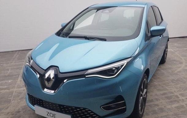 Renault Zoe: фото
