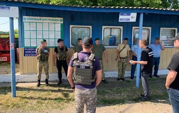 За взятки задержаны одесские таможенники и пограничники