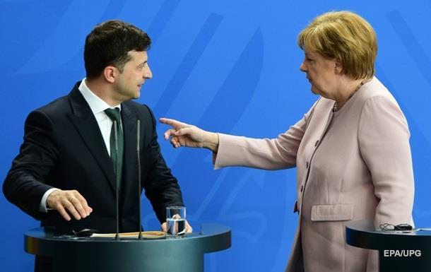 Меркель пояснила тремор на зустрічі із Зеленським