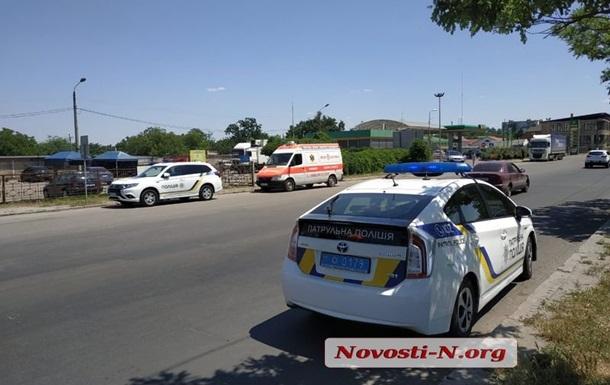 В Николаеве  скорая  сбила ребенка на переходе и уехала с места ДТП