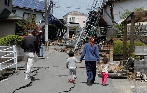 Землетрясение в Японии: возросло число пострадавших