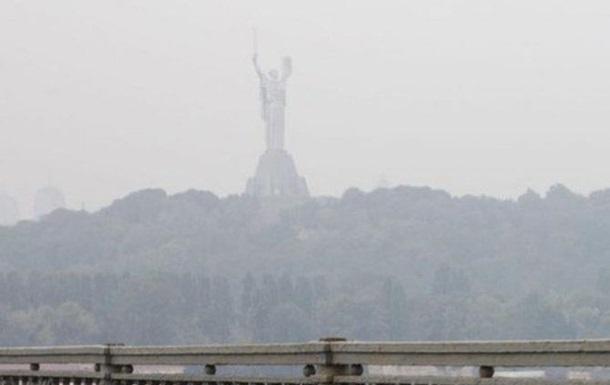 В Киеве  зашкаливает  загрязнение воздуха
