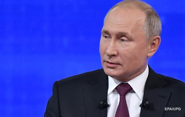 Путин назвал потери России от санкций