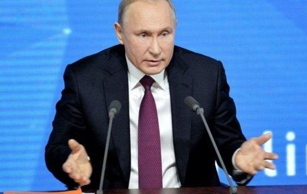 Путин раскритиковал Зеленского во время «Прямой линии»