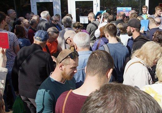 В ДНР ведется пассивная работа по выдаче паспортов РФ
