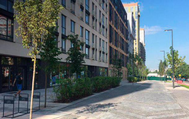 У Києві відкрили першу smart-вулицю