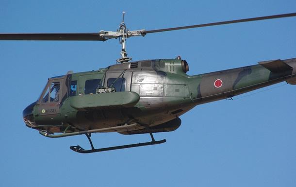 У Токіо військовий вертоліт розбився під час посадки