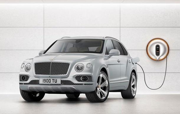 Bentley готує гібридні версії всіх своїх авто