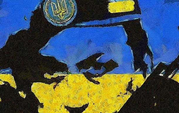 Ветеран АТО дарує плакати Посольствам і музеям в ЄС