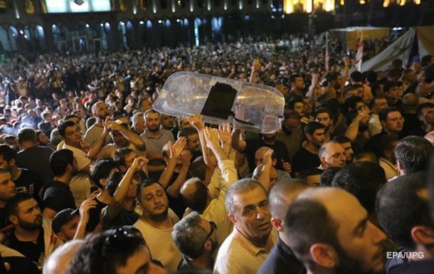 Грузинські учасники протесту висунули ультиматум