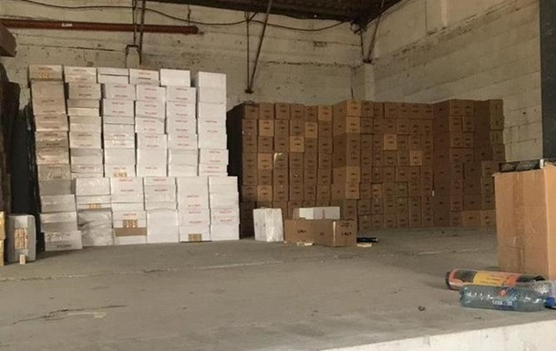 СБУ вилучила контрабандні сигарети на 50 млн гривень