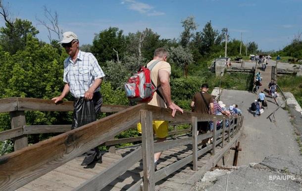 На КПВВ Станица-Луганская умер мужчина