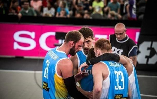 Сборная Украины проиграла в четвертьфинале ЧМ по баскетболу 3х3
