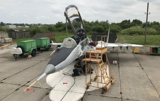 Во Львове завершили испытания самолета МИГ-29УБ