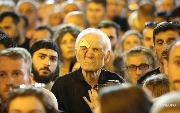 У Грузії заарештували понад 120 учасників протесту