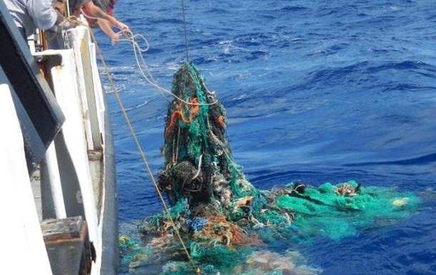 В Тихий океан запустили  ловушку  для мусора