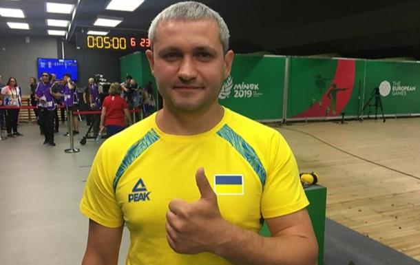 Омельчук завоевал серебро Европейских игр в стрельбе из пистолета