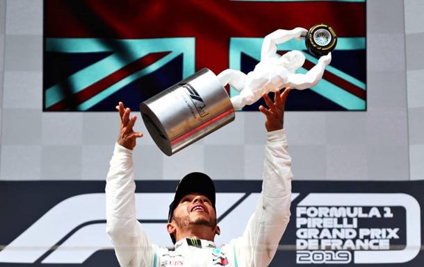 Хемілтон виграв Гран-прі Франції