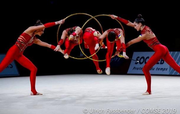 Украинки добыли серебро Европейских игр в художественной гимнастике