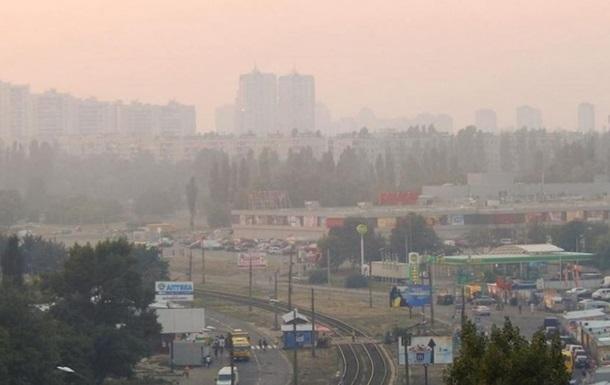 Грязный воздух в Киеве: ГСЧС назвала новую причину