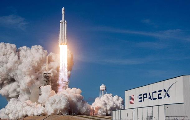 Вибух ступені ракети SpaceX показали на відео
