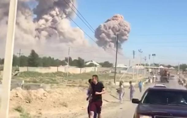 На арсенале в Казахстане прекратились взрывы