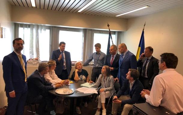 Украина официально остановила работу в ПАСЕ