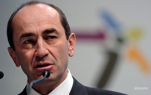Суд в Армении вновь арестовал экс-президента