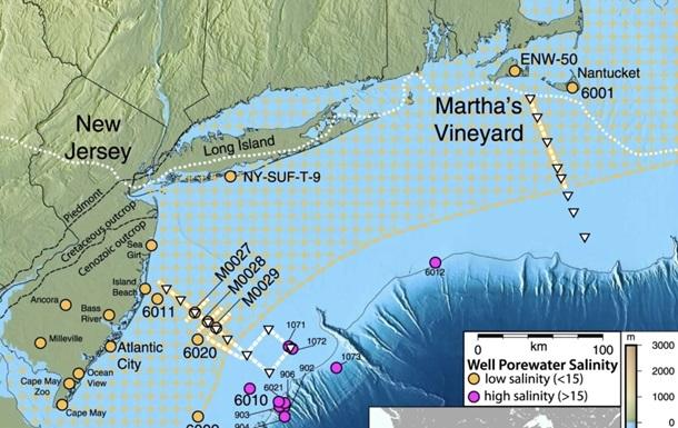 Вчені знайшли гігантський прісноводний запас під океаном