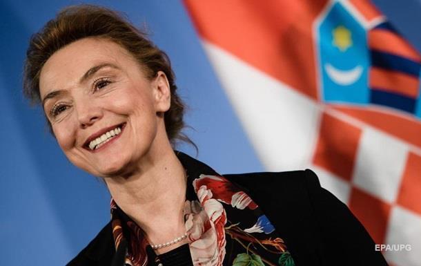 Глава МЗС Хорватії обрана новим генсеком ПАРЄ