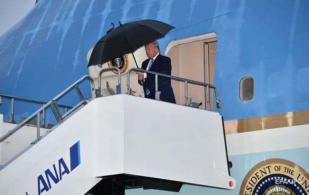 Трамп прилетів до Японії для участі в G20