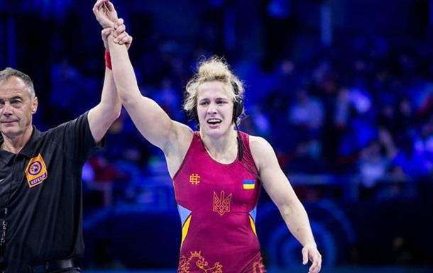 Черкасова завоювала бронзу Європейських ігор у вільній боротьбі