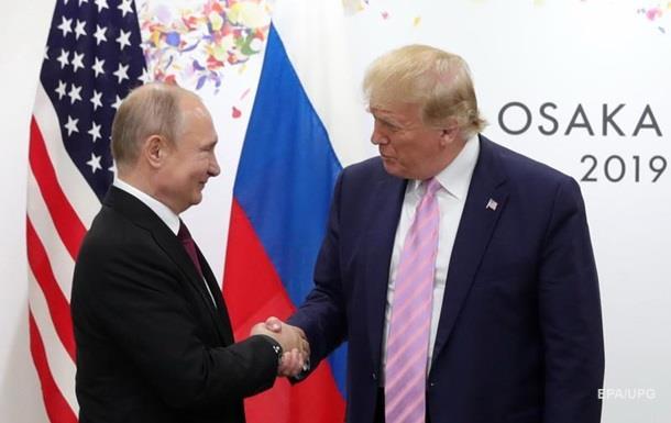 Росія оцінила переговори Путіна з Трампом