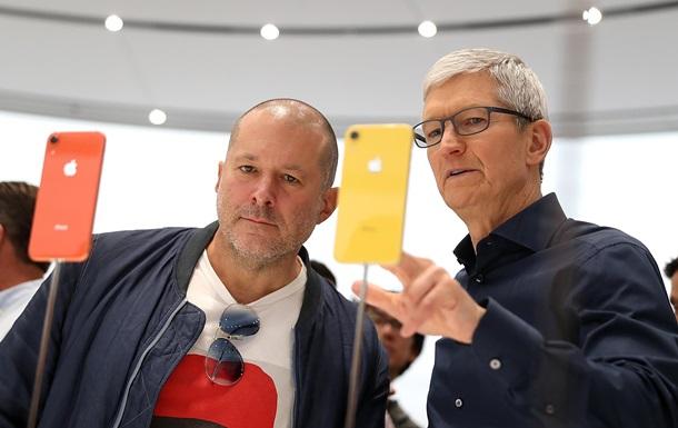 Apple втратила $9 млрд, як пішов головний дизайнер