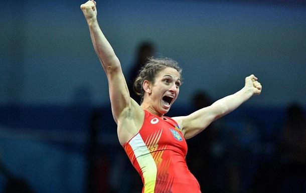 Ткач принесла Украине первое золото в борьбе на Европейских играх