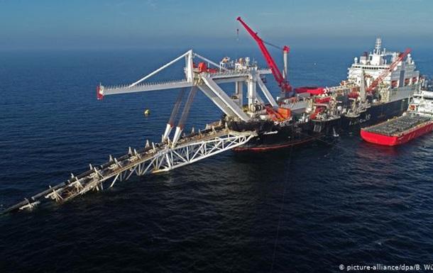 Північний потік-2 побудують в обхід вод Данії
