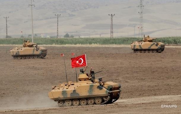 Турция перебросила спецназ на границу с Сирией