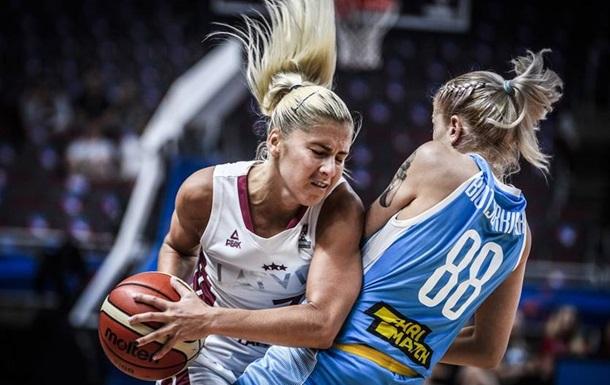 Сборная Украины проиграла Латвии во втором туре женского Евробаскета