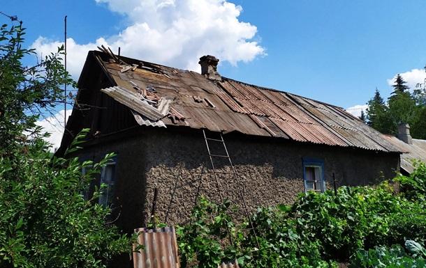 Штаб ООС показав обстріляне село Золоте-4